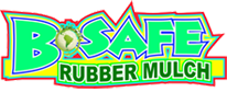 B Safe Rubber Mulch